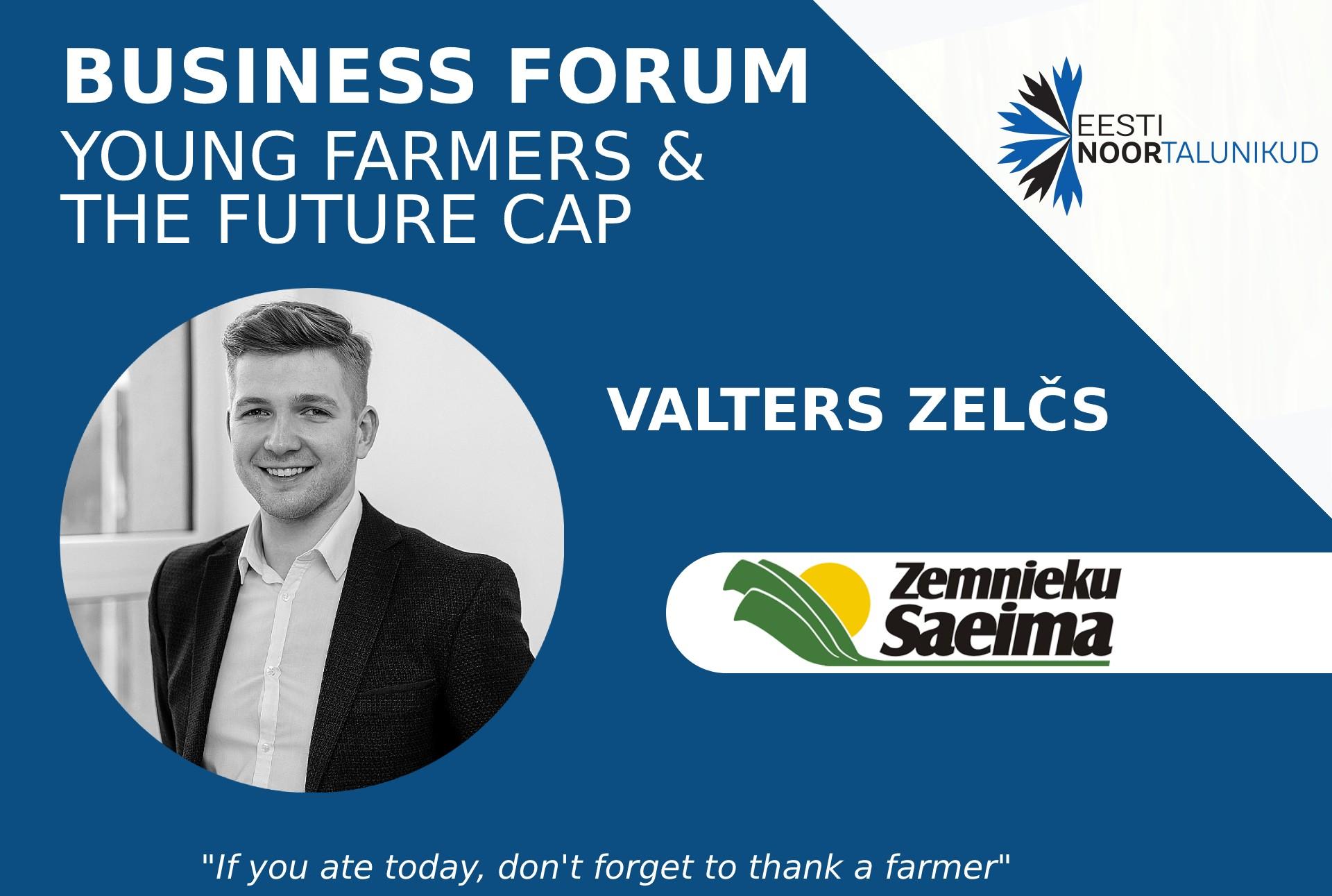 Valters Zelcs - Zemnieku saeima